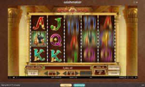 wishmaker book of dead casino